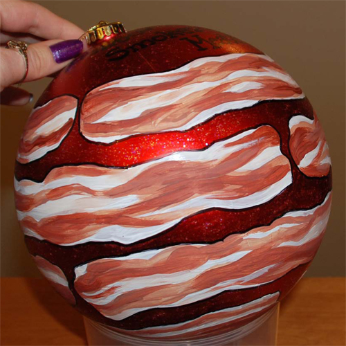 Nueske's Bacon Wrapped Ornament